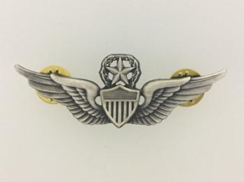 U.S. Army Command Pilots or Aviators metal wings. Full size.