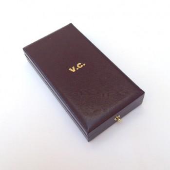 Presentation case for the Victoria Cross