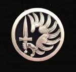 French Metal Beret Insignia