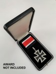 Presentation case for the  Knights Cross of the Iron Cross ROUND CORNERS.