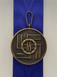 S.S. 8 Year Long Service Medal. Superior quality.