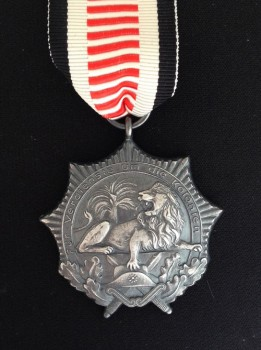"""German WW1 colonial 'Lion Order' or  'Kolonialauszeichnung"""").  RIBBON MEDAL"""