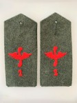 Imperial German Army Aviation 1st Flieger Abteilung shoulder boards PAIR