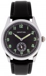 WW2 German Army Service Watch or Dienstuhr replica military watch.  Black Strap.