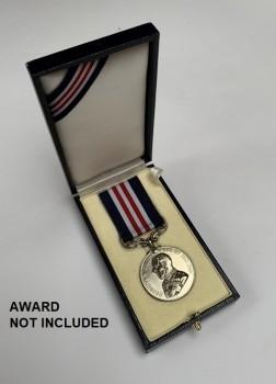 Presentation Case for British Military Medal Award - CASE ONLY