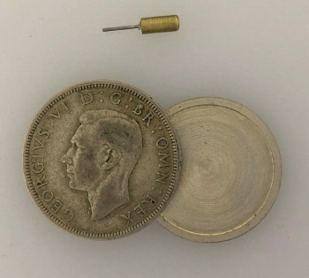 WWII German or British  'Half Crown' Spy Coin  GEORGE VI
