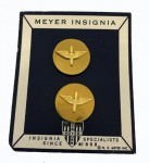 U.S. Metal Collar and BOS Insignia