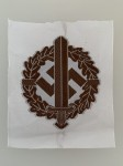 S.A. Sturmabteilung Stormtroopers silk woven cloth sports badge.