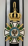Imperial German Grand Commanders Cross of the House Order of Hohenzollern with swords.