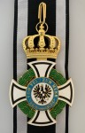 Imperial German Grand Commanders Cross of the House Order of Hohenzollern with out swords.
