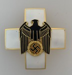 German Social Welfare Decoration. 2nd Class Pin Back award.