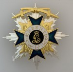 WW1 German Bavarian Military Service Order 1st class with Swords breast Star