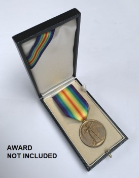 Presentation Case for British WWI Victory Medal - CASE ONLY