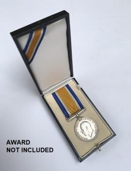 Presentation Case for British WWI War Medal - CASE ONLY