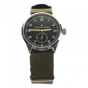 WW2 British Army 'Dirty Dozen' Service Watch . Late War style.