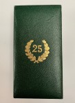 Presentation Case  for the Army 25 year Long Service Cross.