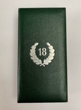 Presentation Case  for the Army 18 year Long Service Cross.