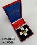 Presentation case for the German Social Welfare Decoration. 1st Class neck decoration.