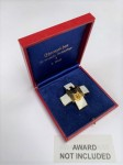 Presentation case for the Social Welfare Decoration 2nd class pin back cross.