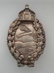 Imperial German Prussian WWI Aviator's metal breast badge HIGHEST QUALITY