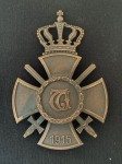 GENUINE Imperial German WWI WURTTEMBERG State Honour Cross award medal pin back.