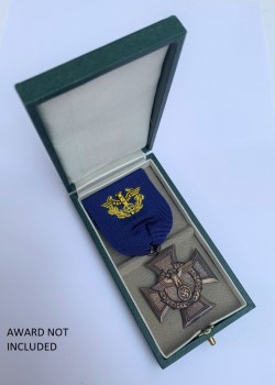 Presentation Case  for the German Customs Long Service Cross.
