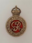 1st Life Guards metal cap badge ANTIQUED.