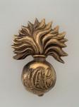 Honourable Artillery Company Grenade brass cap badge ANTIQUED.