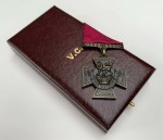 VICTORIA CROSS - SOLID BRONZE in presentation case.