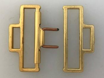 WWII German Army Officers Belt Buckle Keeper Fitting Set (for 50mm wide belt)