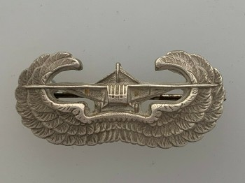 American Army WWII Glider metal wings 'STERLING'