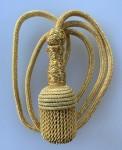 WW1 or WW2 Germany German Army Sword Knot or Dagger Portopee golden  wire.