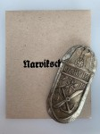 Narvik Battle Shield in Silver ORIGINAL QUALITY with envelope