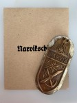 Narvik Battle Shield in Gold ORIGINAL QUALITY with Emvelope