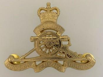 Royal Australian Artilery Metal Beret Cap Badge