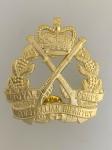 Royal Corps Australian Infantry Metal Beret Cap Badge.