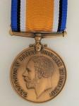 British WWI War Medal in bronze