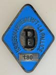 WWII Kriegsmarine U Boat Submarine Yard Workers Badge 'La Pallice'.