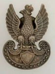 WWII Polish Army Metal Cap Badge 1939-45.