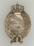 Imperial German WWI Pilot's metal breast badge 1914-18 Bavarian Issue SUPERIOR QUALITY.