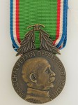1914 - 1918 French Army WWI Verdun Marshal Petain Lafayette medal with ribbon