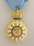 France Order of The Reunion Decoration - 1st Empire French Napoleonic Officer issue