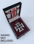 Presentation case for the 1939 Iron Cross 2nd Class